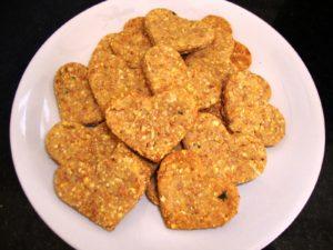 Biscoito de Frango. (Imagem ilustrativa)