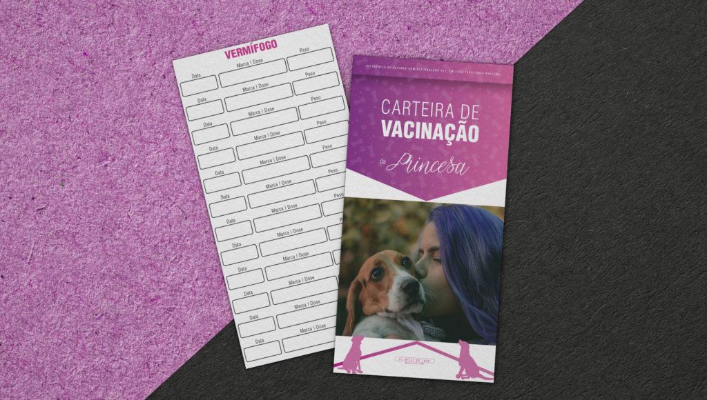 CARTEIRA DE VACINAÇÃO MATILHA FIEL.