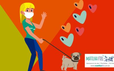 Como passear com seu cão em segurança durante a quarentena?